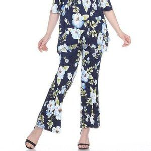 White Mark Other - Print 2-Piece Blue Flowers Print Set SET-027